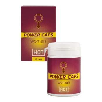 POWER CAPS WOMAN 60 Kapseln, Potenzhilfe natürlich, mehr Lust, Erektionsmittel, Potenzmittel